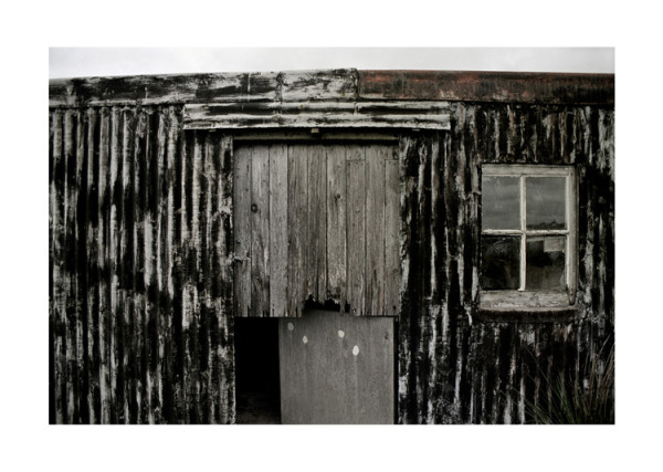 Black Grey Shack Isles of Harris and Lewis, Scotland 1990 / 2010 digital chromogenic print edition of 100 to accompany special edition catalogue 20.3 x 25.4 cm (paper size)
